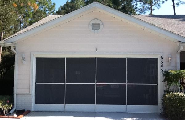 Garage Door Screen Sliding Garage Screen Doors